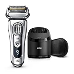 Braun Series 9 is the World's most efficient electric shaver. The 5 shaving elements capture more hair in one stroke for a flawless shave. This foil shaver provides you with both a close and gentle shave, without compromise. The electric razo...