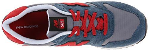 888546361058 - New Balance Men's Ml565 Lifestyle Running Shoe,Blue/Red, 10.5 D US carousel main 7