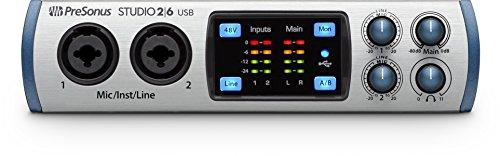 Presonus STUDIO 26 USB 2.0 Recording System - Bus Mic Line