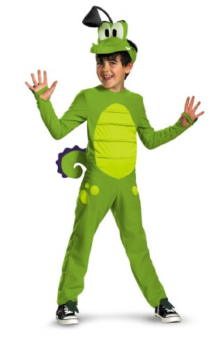 Disguise Disney's Where My Water Swampy Deluxe Child Costume, 4-6 (Disney Holloween Costumes)