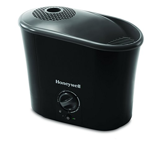 Honeywell HWM-340B Easy-to-Care Warm Mist Humidifier, 1.3 Gallons, Black