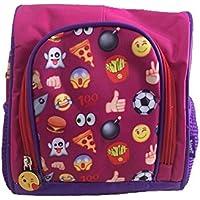 Lancheira Térmica Escolar Infantil Emoji Roxa