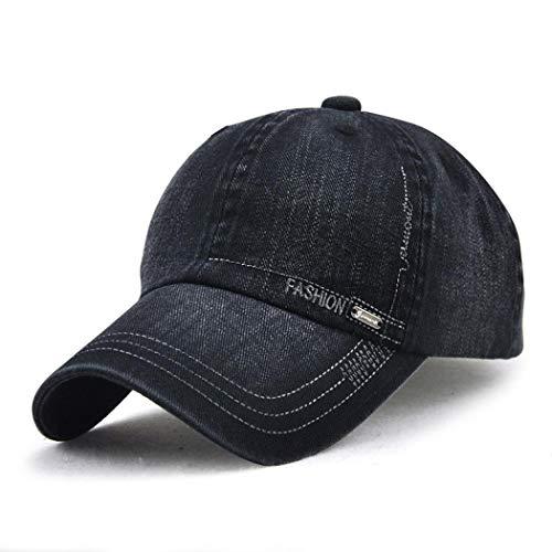 Hombre de para Gorra Viajes Adultos Xixik o Ajustable béisbol Caps Transpirable Pop Tapas Negro algodón para y Unisex niños Hip Mode Mujer Deporte Gorra Fq5wqHP8