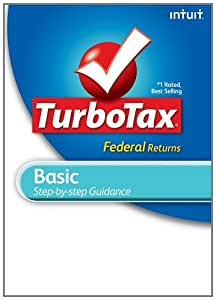 TurboTax Basic Federal + E-file 2011 for PC [Download] [Old Version]
