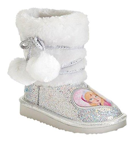 Disneys Frozen Anna and Elsa Toddler Girls Glitter Boots (11M)