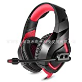 HUAN Gaming Headset 3.5mm Stereo Over-Ear Gaming Headphone Headband with Noise Cancelling Mic & Volume Control for PC, Laptop (Color : 2)