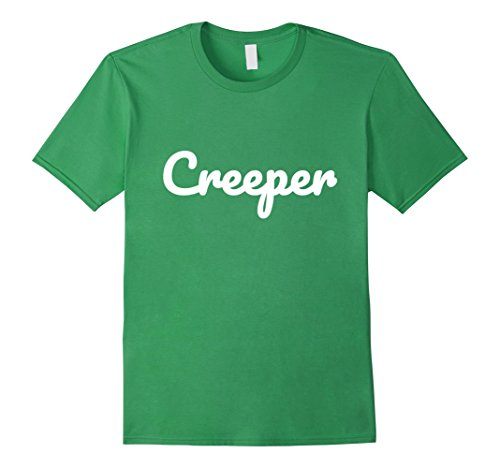 Mens Creeper Shirt - Creepy Funny Halloween Costume Real Meme XL Grass (Funny Halloween Costume Memes)