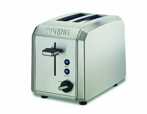 Waring WT200 Professional 2-Slice Toaster, Brushed Stainless