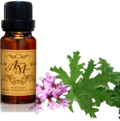 Rose Geranium Essential Oil 100% (France) (Pelagonium graveolens) 100 ml (3 1/3 Fl Oz) Premium (Acqua Di Gio 100 Ml)