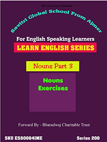 Common And Proper Noun (Nouns Class 3 - Learn Full English in 72 Hours Series For All- DrAnup From)