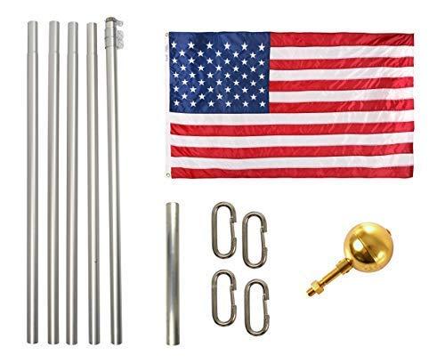 Ezpole Flagpoles Defender Flagpole Kit 17-Feet