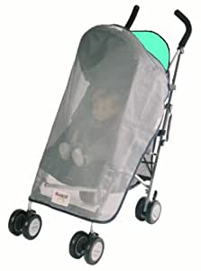 Sashas Sun, Wind and Insect Cover for Graco IPO Lightweight Twin Handle Umbrella Stroller