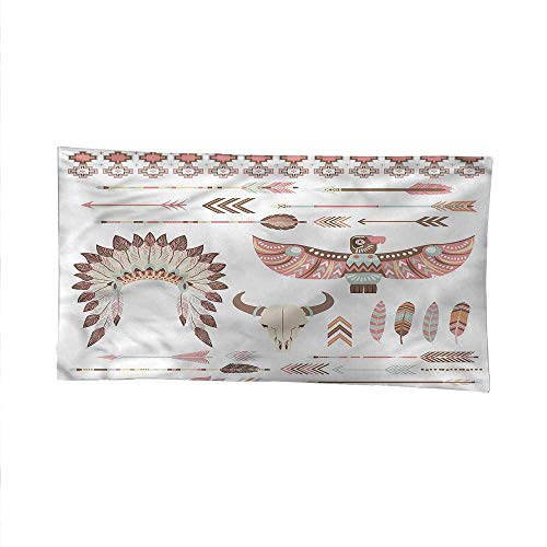 Native Americanspace tapestrywall Hanging tapestryArrow Feather Eagle 60W x 40L Inch