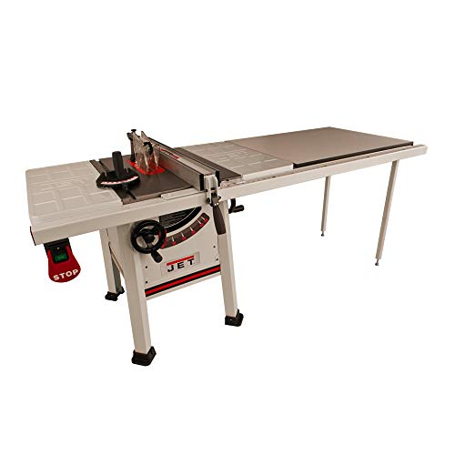 Jet 708493K JPS-10TS, 10-inch Proshop Tablesaw with 52-inch Fence, Steel Wings and With Riving Knife...