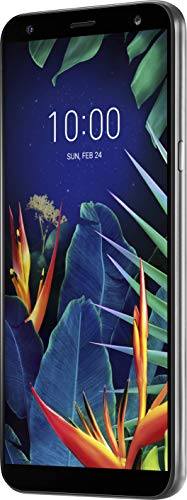 LG K40 – Smartphone (14.5 cm (5.7″), 2 GB, 32 GB, 16 MP, Android 8.1, Platinum Gray)