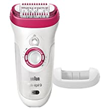 Braun Silk-épil 9 9-521 - Wet & Dry Cordless Electric Hair Removal Epilator for Women