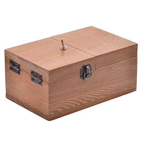 Cheap Aikoi Wooden Useless Fully Assembled Machine Box Toy for cheap