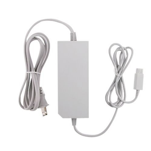 Nintendo RVL-002 Wii (not Wii U) AC Power Adapter - Bulk Packaging,grey