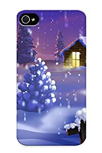 Summerlemond Case Cover For Iphone 4/4s - Retailer Packaging Christmas S House Protective Case