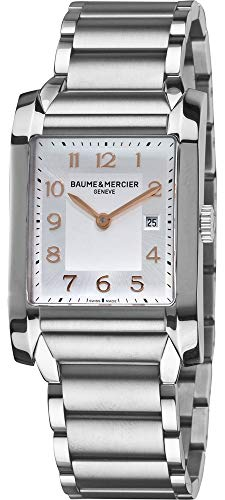 Baume & Mercier Men's 10020 Silver Dial Stainless Steel Watch