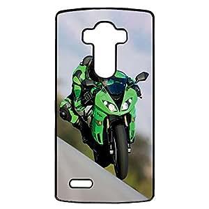 Cover Shell Motorbike Kawasaki Phone Case for LG G4 Cool Motogp Design