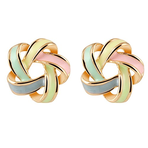 duo-la-fashion-distortion-spiral-color-bar-lady-charm-all-match-stud-earrings