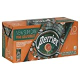 Perrier Sparkling Min Water Grapfruit 9x 10Pack