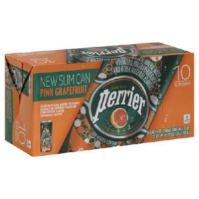 Perrier Sparkling Min Water Grapfruit 9x 10Pack by Perrier