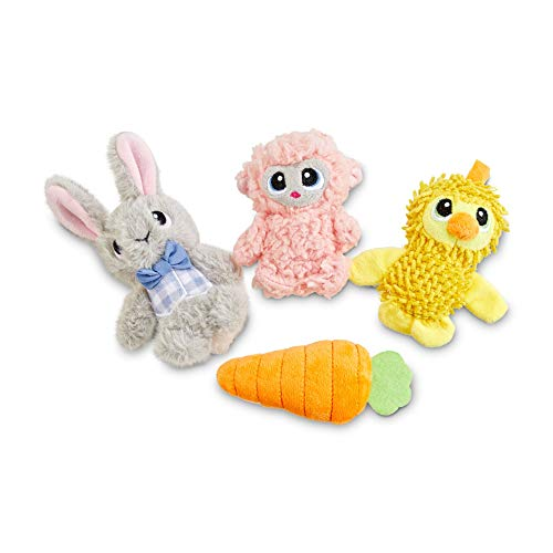 Leaps & Bounds Easter Pal Plush Dog Toy in Assorted Styles, X-Small