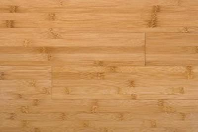 3ft Amerique Horizontal Carbonized Solid Bamboo Flooring (6 inch Sample)