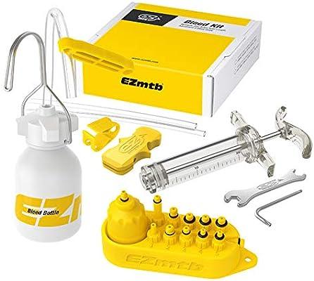 Kit de aceite mineral DOT para purgar frenos hidráulicos de ...