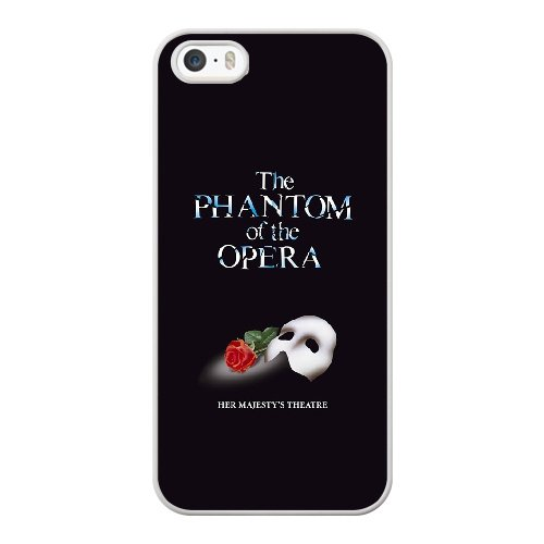 Coque,Coque iphone 5 5S SE Case Coque, The Phantom Of The Opera Cover For Coque iphone 5 5S SE Cell Phone Case Cover blanc