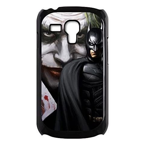 The Joker Batman The Dark Knight Samsung Galaxy S3 Mini Case for Samsung Galaxy S3 Mini Plastic New Back (Samsung Galaxy S3 Mini Batman)