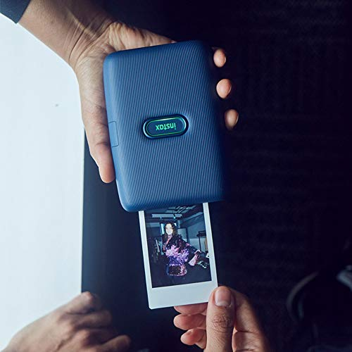 Image of Fujifilm Instax Mini Link Smartphone Printer (Dark Denim) + Fuji Instax