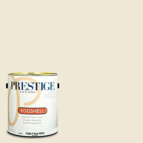 Prestige Paints Interior Paint and Primer In One, 1-Gallon, Eggshell,  Comparable Match of Benjamin Moore Navajo White