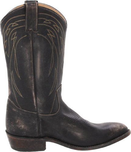Frye Womens Billy Aantreklaars Zwart Stone Wash-77713