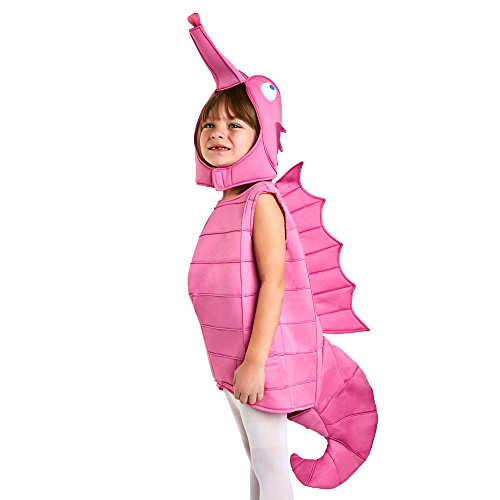 Toddler Pink Seahorse Costume (Under The Sea Baby Costumes)