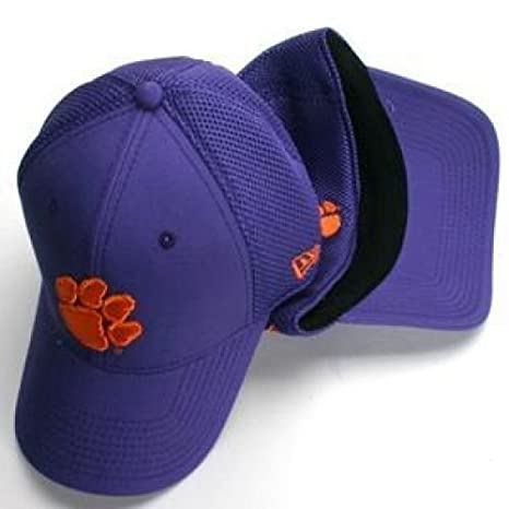 new styles f2a57 71f7f Clemson Tigers New Era Aflex Hat - Small - Medium