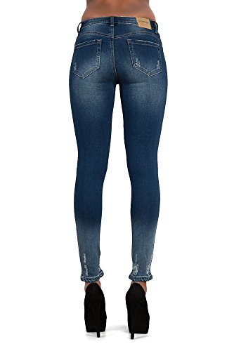 Lustychic Donna Blue Ripped Sexy Mix Jeans rqY5r