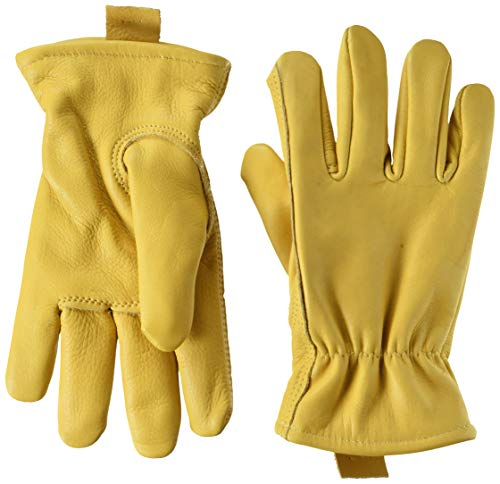 (Midwest Gloves & Gear 688TH-XL-AZ-5 Midwest Leather USA Leathe Work Glove with Thinsulate Insulation, Size X-Large, Extra, Natural)