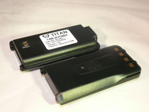 2 PCS Battery for HYT BL2001 TC-610 TC-610P TC-620 etc Li-Ion 7.4V 2000mAh BatteryJack Inc BP209