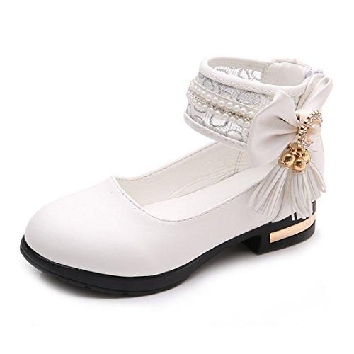 Jasmine Sparkle Child Shoes - O&N Kids Girls Princess Dress Up Flat Shoes Mary Jane Dance Shoes