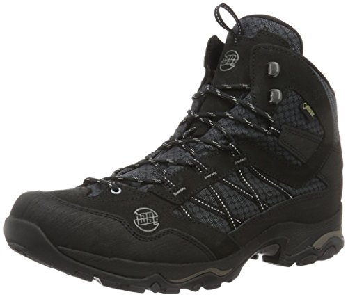 GTX High Rise Boots Hiking 12 Men's Winter Black Mid Hanwag Black Belorado 4nRpA6T