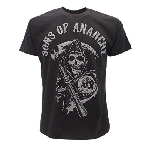 Officielle Sons Soa Avec Série shirt Of Logo T Tv Samcro Du Anarchy agUaxP