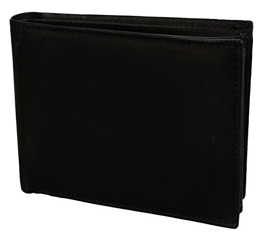 Colours Black Colours Men's Wallet Leather Wallet Leather Black Genuine Men's Genuine in Various in Various rOraYf