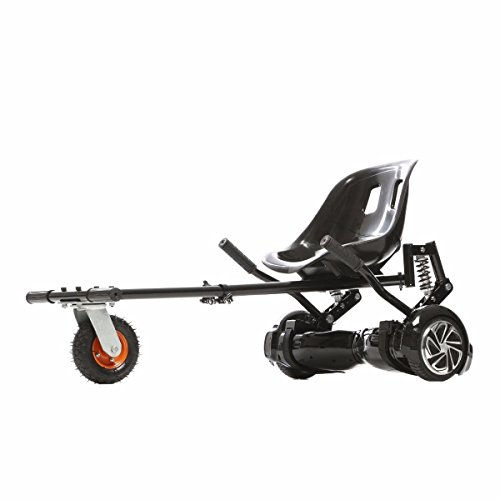Jetson JetKart 2.0 Universal Hoverboard Attachment - Converts Hoverboard to Sit Down Electric Go Kart with Rear Suspension for Off Road Riding - Fits Any Rider Height