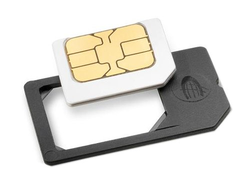 Micro SIM to Full SIM Card Adapter - Retail Packaging - Gray ()