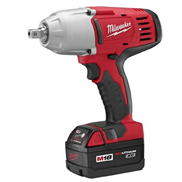 Milwaukee 2662-22 M18 18-Volt 1/2-Inch High-Torque Impact Wrench w / Batteries