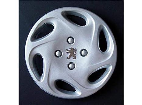 Altre Marche Juego de 4 tapacubos de Repuesto para Peugeot 106: Amazon.es: Coche y moto