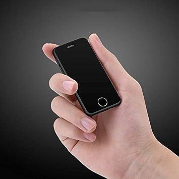 JJA BROS Ultra Think Melrose S9X Quad Core 1GB RAM + 8GB ROM 2.5 Pulgadas Android 6.0 Pocket Tarjeta de crédito Plástico súper Mini Smartphone ...